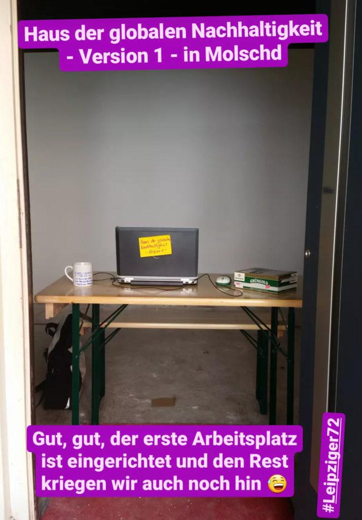 Haus der globalen Nachhaltigkeit Saarbrücken